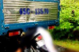 2 học sinh ở Kiên Giang thương vong vì tông xe vào đuôi xe tải