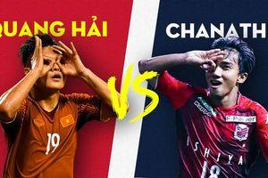 Quang Hải tranh giải Cầu thủ xuất sắc nhất Đông Nam Á với Chanathip