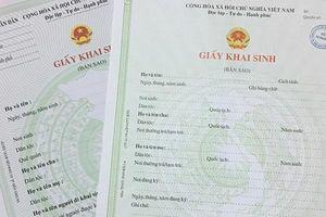 Thu hồi giấy khai sinh do xã cấp cho 2 bé người Hàn Quốc