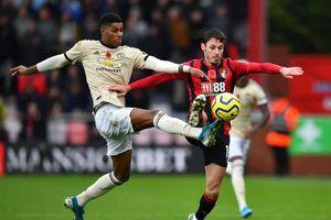 MU trở lại mặt đất sau trận thua Bournemouth