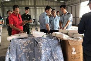Hơn 7 tấn hàng Trung Quốc giả mạo xuất xứ Việt Nam bị phát hiện