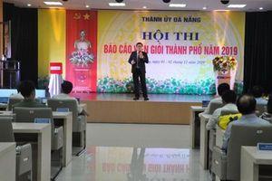 Khai mạc Hội thi báo cáo viên giỏi TP Đà Nẵng năm 2019