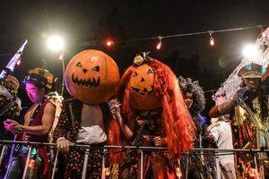 Muôn màu muôn vẻ cách hóa trang trong lễ hội Halloween
