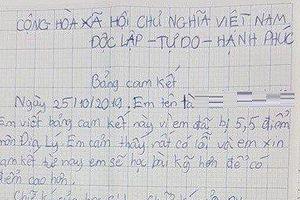 Vụ học sinh lớp 6 phải viết cam kết vì điểm thấp: Sở GD&ĐT TP.HCM lên tiếng
