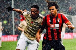 Hàng công yếu kém, MU thua bạc nhược trên sân Bournemouth