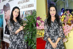 NSUT Trịnh Kim Chi giản dị tham dự ra mắt bộ phim 'Không Lối Thoát'