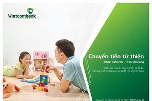 Vietcombank mở rộng dịch vụ chuyển tiền từ thiện với quỹ Saigon Children's Charity