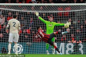 De Gea xuất thần, MU vẫn thua bạc nhược trước Bournemouth