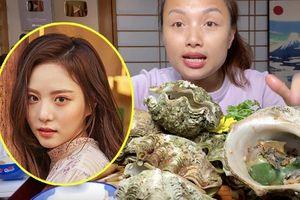 Món sò tai tượng trong vlog Quỳnh Trần JP hóa ra là đặc sản quý, từng khiến 1 nữ diễn viên Hàn đối diện án tù sau khi ăn