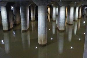 'Ngôi đền dưới lòng đất' giúp Tokyo tránh lụt trong siêu bão Hagibis