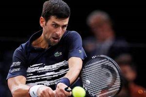 Djokovic lần thứ sáu vào chung kết Paris Masters