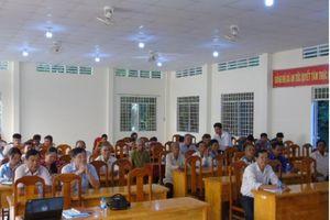 Tiếng nói luật gia từ cơ sở: Hội Luật gia huyện Tri Tôn phổ biến pháp luật cho người dân tộc Khmer