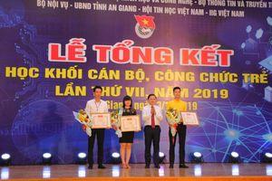 Kiên Giang đoạt giải Nhất thi Tin học cán bộ trẻ toàn quốc