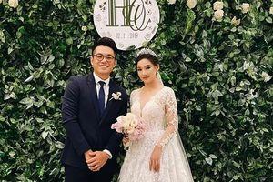 Kiều Oanh hạnh phúc trong ngày cưới