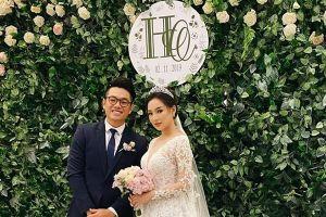 Vợ cũ cố người mẫu Duy Nhân đẹp rạng rỡ trong đám cưới long trọng ở Hà Nội
