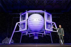 Tỷ phú giàu nhất thế giới Jeff Bezos và ý tưởng táo bạo đưa người lên Mặt Trăng