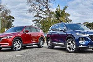 Hyundai Santa Fe 2019, Mazda CX-8 giảm giá mạnh đầu tháng 11