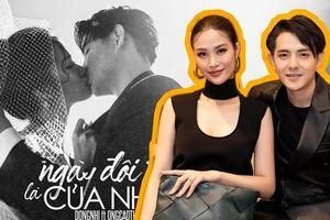 Đông Nhi xác nhận tên ca khúc mới cùng nụ hôn đẹp như phim điện ảnh với Ông Cao Thắng
