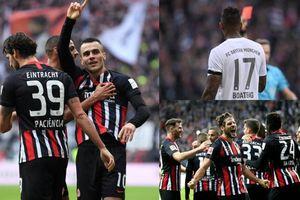 Frankfurt 5-1 Bayern: 'Hùm xám' muối mặt