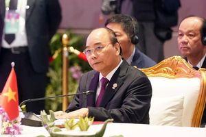 Hoạt động của Thủ tướng tại Hội nghị cấp cao ASEAN 35