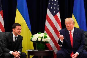 Tổng thống Donald Trump mong chờ lãnh đạo Ukraine đến Nhà Trắng