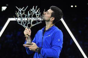 Djokovic mất ngôi số một thế giới dù vô địch Paris Masters