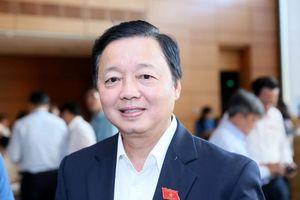 Bộ trưởng Trần Hồng Hà chia sẻ việc muốn nhường ghế đại biểu Quốc hội