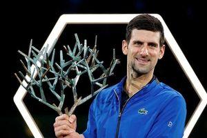 Djokovic lần thứ năm vô địch Paris Masters