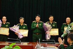 Nhiều tập thể, cá nhân thuộc Tổng cục Chính trị có thành tích xuất sắc được khen thưởng