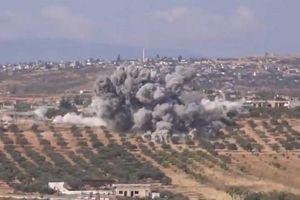 Không quân Nga tấn công các chiến binh tại tỉnh Idlib - Syria