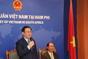 Sứ quán Việt Nam cần tham mưu cho Chính phủ tăng cường quan hệ trên nhiều lĩnh vực với Nam Phi