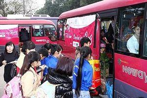 Hà Nội hỗ trợ xe khách đưa 1.600 công nhân về quê đón Tết
