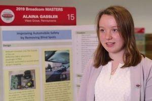 Nữ sinh 14 tuổi với phát minh xóa điểm mù cứu mạng hàng nghìn người đi xe hơi