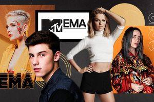 MTV EMAs 2019: Billie Eilish 'hòa tỉ số' với Taylor Swift, Shawn Mendes 'xưng vương' ngôi vị Nghệ sĩ xuất sắc nhất