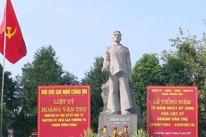 Kỷ niệm 110 năm Ngày sinh đồng chí Hoàng Văn Thụ: Bồi đắp từ truyền thống quê hương, gia đình