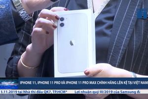iPhone 11 chính hãng mở bán, sức mua tăng vọt