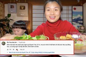 Quỳnh Trần JP đăng vlog nấu bún riêu với… bạch tuộc có 1-0-2, nhưng dân tình lại chú ý hơn tới bình luận 'tung hứng' của Ẩm Thực Mẹ Làm
