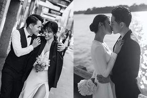 Đông Nhi liên tục khóa môi Ông Cao Thắng trong bộ ảnh cưới ở Sydney
