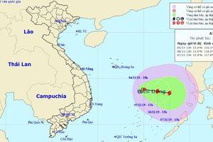 Yêu cầu các tỉnh từ Thanh Hóa đến Vũng Tàu chủ động ứng phó diễn biến phức tạp của ATNĐ