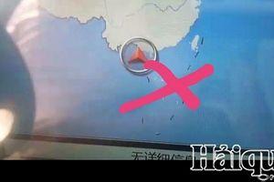 Hải quan Hải Phòng: Phát hiện 7 ô tô Trung Quốc nghi chứa 'Bản đồ đường lưỡi bò'