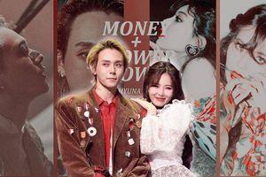 Màn 'đối đầu' đáng yêu của KPop chính thức lộ diện: HyunA cuốn hút với 'Flower Shower', Dawn cực ngầu cùng 'Money'