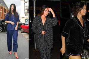 Không những biết tạo hit 'khủng', Selena Gomez thành công khi tạo trend mặc đồ ngủ ra đường đi dự sự kiện