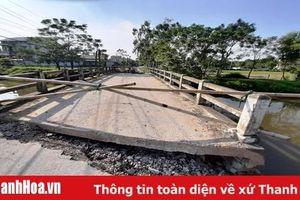 Phường Quảng Vinh (TP Sầm Sơn): Cuộc sống người dân bị đảo lộn sau khi cầu Ngang bị sập