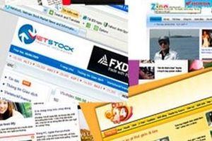 'Mạnh tay' với tình trạng 'báo hóa' trang thông tin điện tử