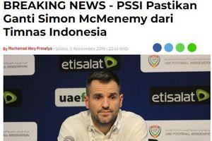 ĐT Indonesia sa thải HLV trưởng sau trận thua Việt Nam