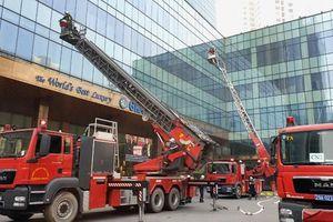 Hà Nội: Diễn tập phương án chữa cháy và cứu nạn, cứu hộ cấp thành phố