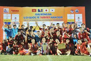 U21 tuyển chọn Việt Nam vô địch giải U21 quốc tế ở Đà Nẵng