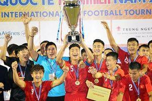 Ðội U21 tuyển chọn Việt Nam đoạt ngôi vô địch
