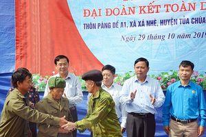 Ðiện Biên tổ chức điểm Ngày hội Ðại đoàn kết toàn dân tộc