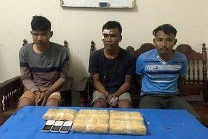 Bắt quả tang vụ vận chuyển 30.000 viên ma túy từ Lào về Việt Nam
